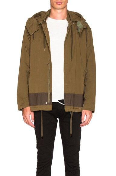 Vincent Hooded Bomber