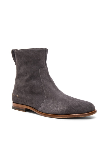 x Common Projects Suede Chelsea Boots