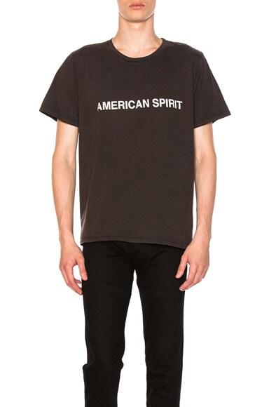 Rhude American Spirit T-Shirt in Black