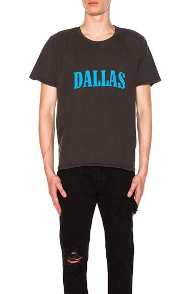 Rhude Dallas T-Shirt in Black