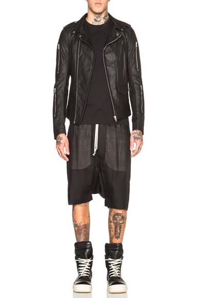 Zipped Stooges Leather Jacket