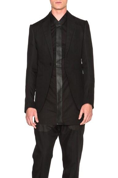 Rick Owens Soft Blazer in Black