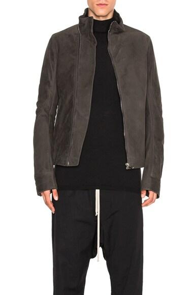 Rick Owens Mollino Jacket in Dark Dust