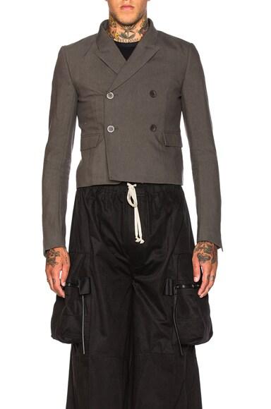 Rick Owens Glitter Jacket in Dark Dust