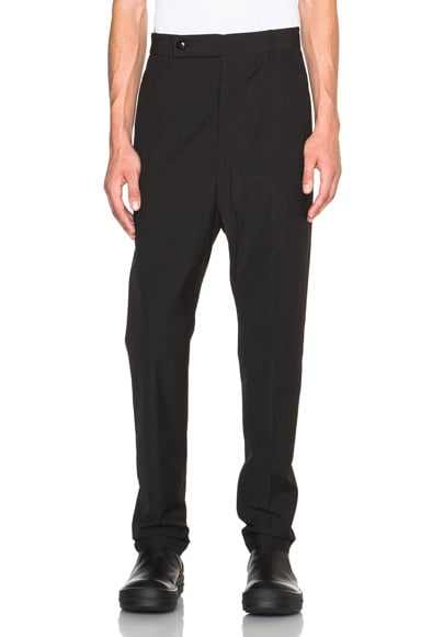Rick Owens Astaire Tailored Pants in Black