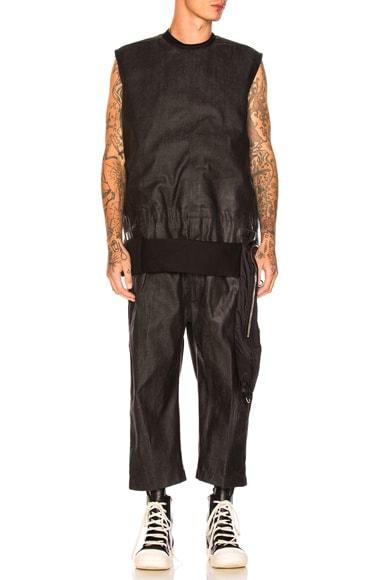 Cargo Cropped Jumpsuit