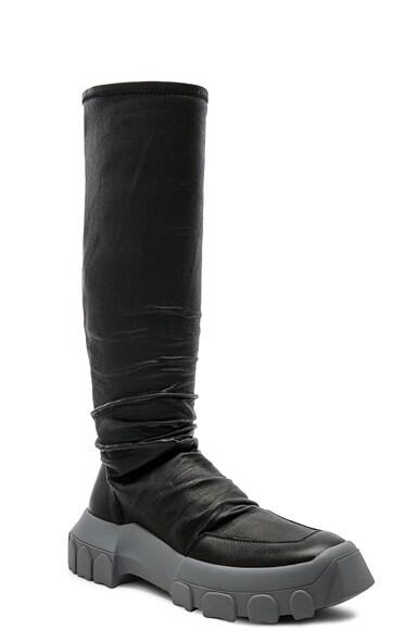 Stretch Leather Hiking Socks
