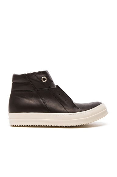 Island Dunk Leather Sneakers