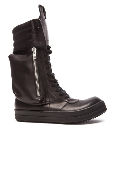 Cargobasket Leather Boots