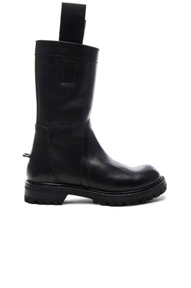 Goodyear Sole Biker Boots