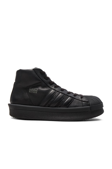 x Adidas Leather Pro Model Sneakers