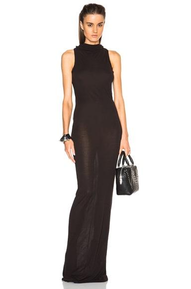 Sleeveless Jersey Raglan Dress