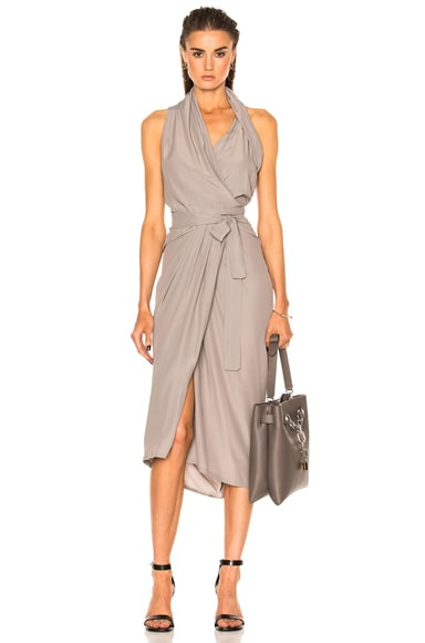 Rick Owens Limo Dress in Fog