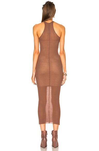 Rib Cotton Tank Dress