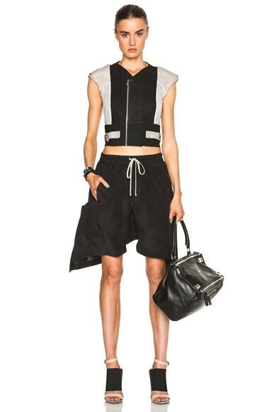 Mikado New Flounced Shorts