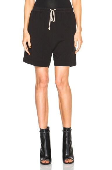 Rick Owens Plain Boxer Shorts in Black