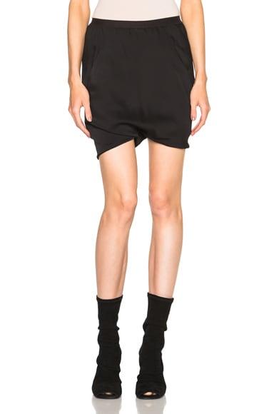 Rick Owens Vincente Bud Shorts in Black