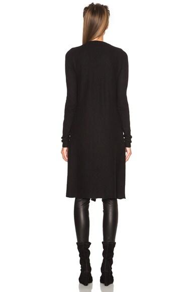 Boiled Cashmere Knit Coat
