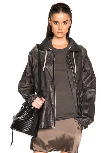 Rick Owens Windbreaker Jacket in Black