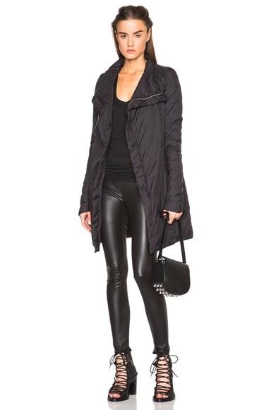 Zipped Nylon Eileen Coat