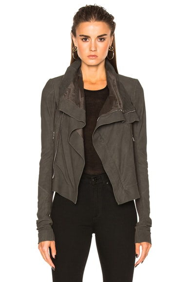 Blister Leather Classic Biker Jacket