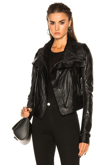 Vegetal Leather Classic Biker Jacket