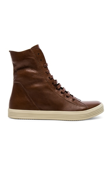 Leather Mastadon Sneakers