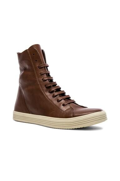 Leather Mastadon Sneakers