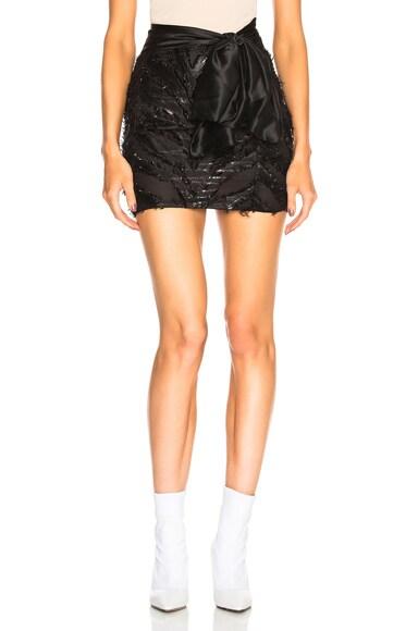 Zebra Bow Skirt