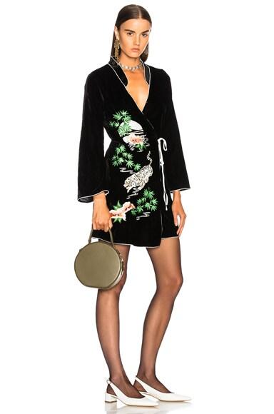 Velvet Iris Dress