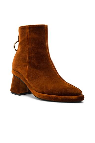 Velvet Ring Slim Boots