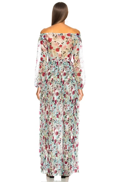 Esther Off Shoulder Maxi Dress