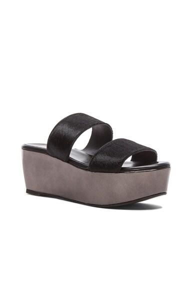 Frazzia Calf Hair Sandals