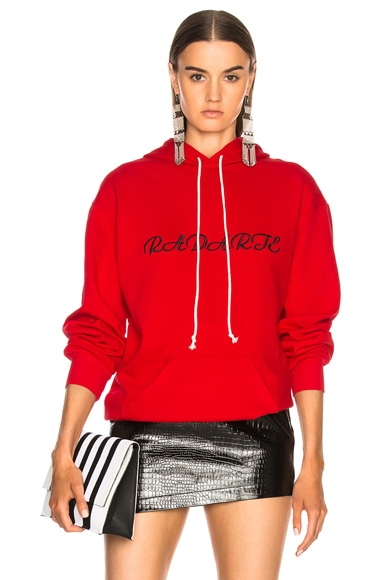 Oversized Radarte Los Angeles Paris Embroidery Hoodie