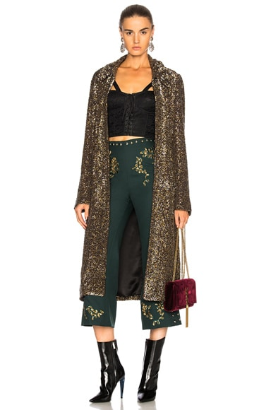Sequin Coat