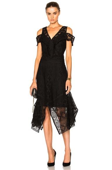 Rodebjer Ranaja Lace Dress in Black