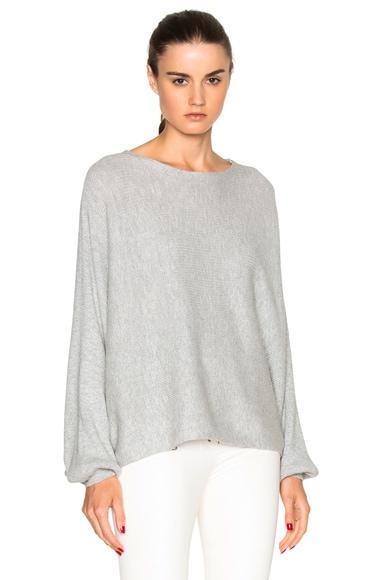 Rodebjer Dalia Sweater in Grey Melange