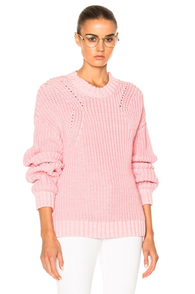 Rodebjer Beauvoir Sweater in Bubblegum
