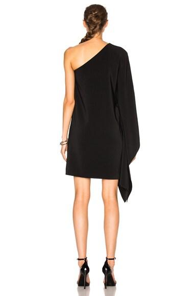 One Shoulder Scarf Dress