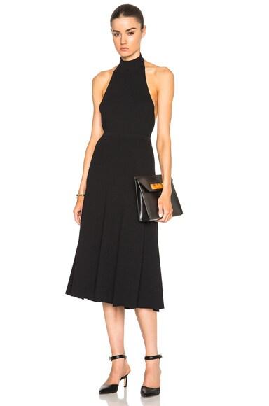 Ribbed Flare Skirt