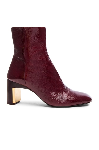 Heeled Ankle Bootie
