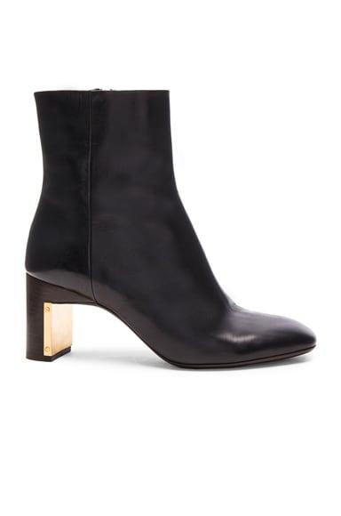 Rosetta Getty Heeled Ankle Bootie in Black