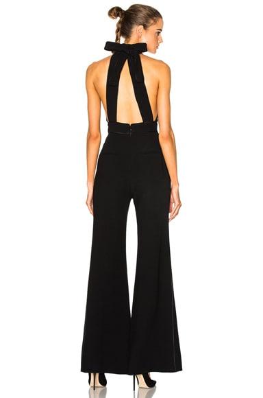 Roksanda Ruscha Heavy Day Tailoring Jumpsuit in Black