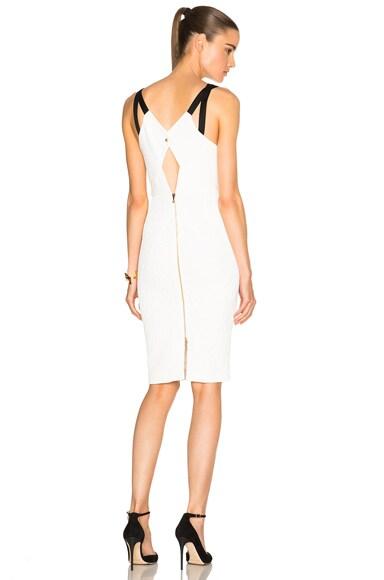 Elvaston Puckered Stretch Viscose Dress