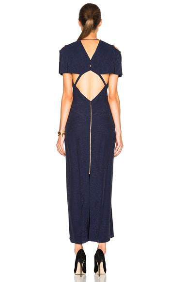 Parry Needle Point Jacquard Dress