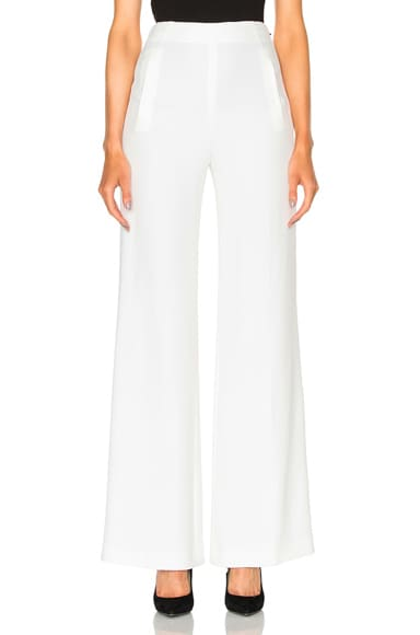 Axon Stretch Viscose Trousers
