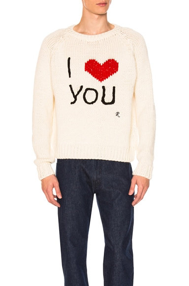 I Love You Sweater