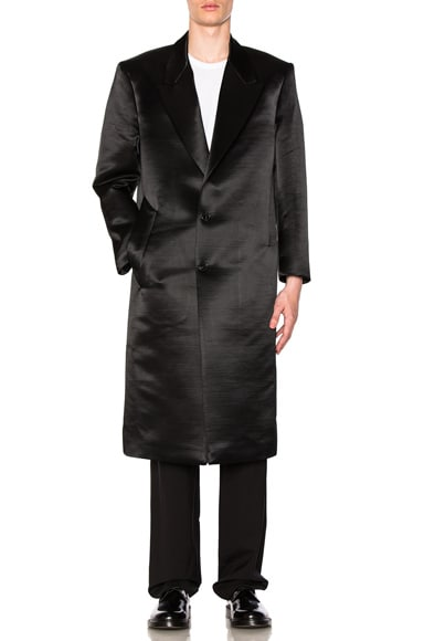 Satin Long Coat