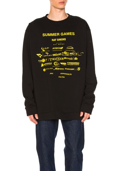 Oversized Summer Games Sweatshirt