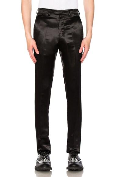Satin Slim Pants